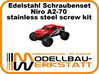 XXL Schrauben-Set Edelstahl A2-70 CEN Reeper 1/7 Monster Truck