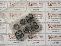 22+8 Kugellager-Set für ARRMA Mojave 6S BLX EXB 1:7 alle Versionen!