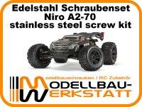 XXL Schrauben-Set für ARRMA Kraton EXB 1:8 Extreme Bash Roller ARA106053 Edelstahl Niro A2-70