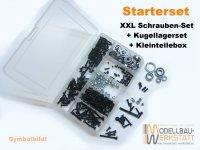 Starterset für ARRMA Outcast EXB 1:8 6S Extreme Bash ARA8710 Schrauben + Kugellager + Box