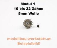 Motorritzel 1:8 5,0mm Modul 1