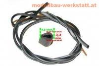 U-Profil XXS 3,3x4,5mm schwarz