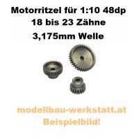 Motorritzel 1:10 3,175mm 48dp